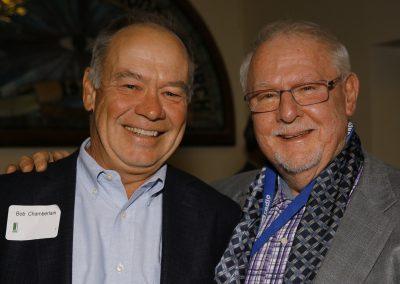 Bob Chamberlain and John Wott