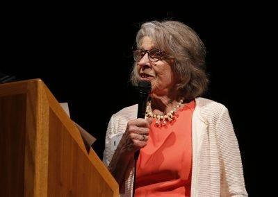 Carol Bridges Giving Award to Joan Overland