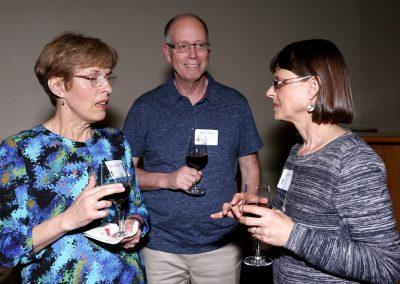 Debbie and Mark Strom with Jean Bergo