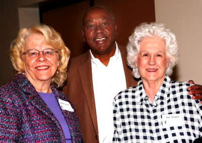 Mary Beth Gemperle, Frank and Sue Gregory