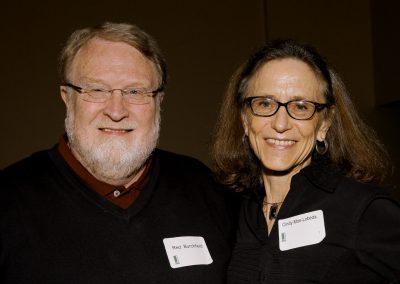 Red Burchfield and Cindy Moe-Lobeda
