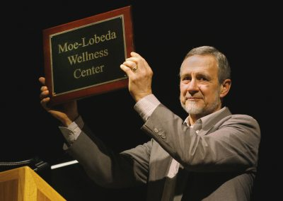 Pastor Ron honored with naming of Moe-Lobeda Wellness Center