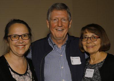 Ruth with Rick and Barbara Friedhoff